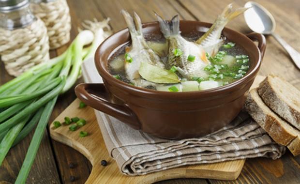 Fisch in Suppe