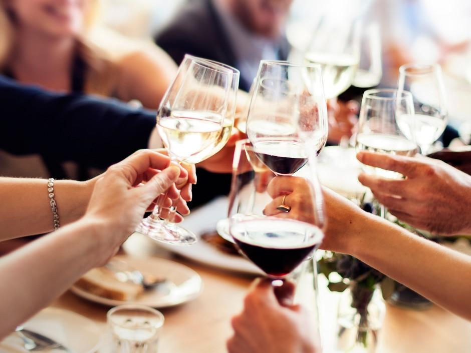 Weinauswahl für einen besonderen Anlass