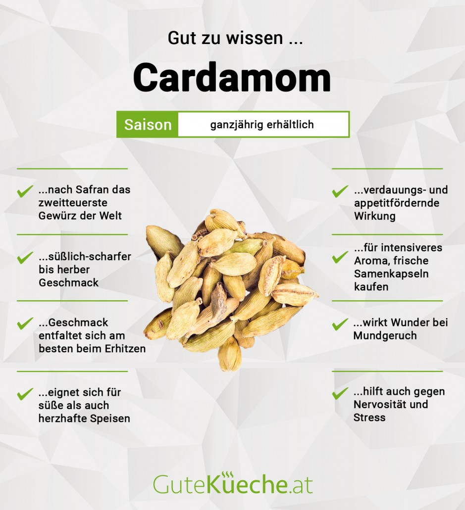 Cardamom (=Kardamom)