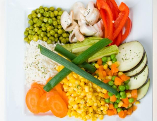 Gemüse aus dem Dpampfgarer