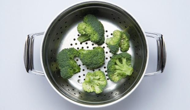 Brokkoli im Dampfgarer