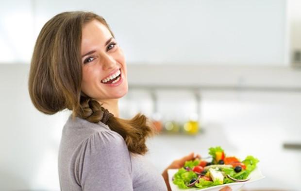 Freude mithilfe der richigen Diät