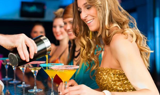 Gelungene Cocktailparty