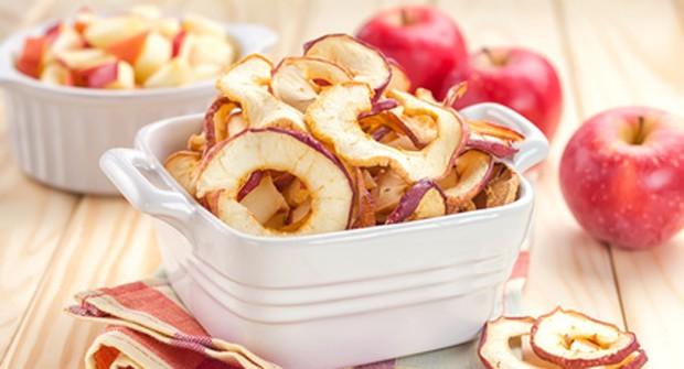 Äpfel getrocknet