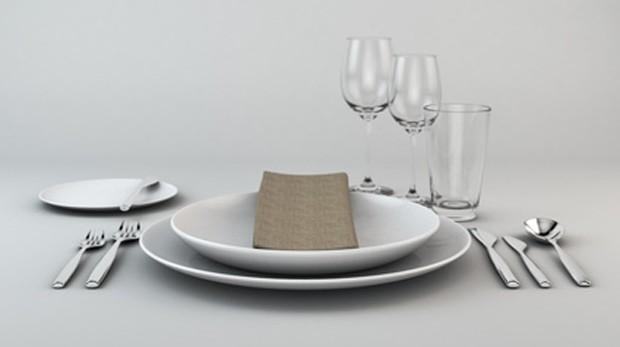 Tisch richtig decken