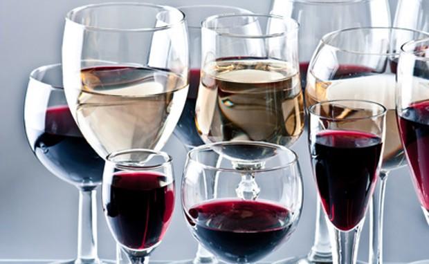 Gläser für Gäste