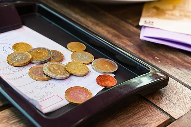 Ist man mit der Bedienung und dem Service zufrieden sind in der Regel 5-10% Trinkgeld in Österreich üblich.