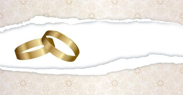 Tischkarte Hochzeit - Vorlage 3