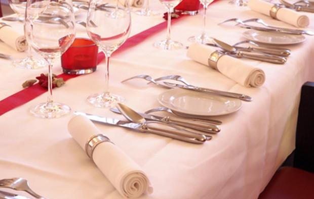 Tischdekoration für Jahrestage