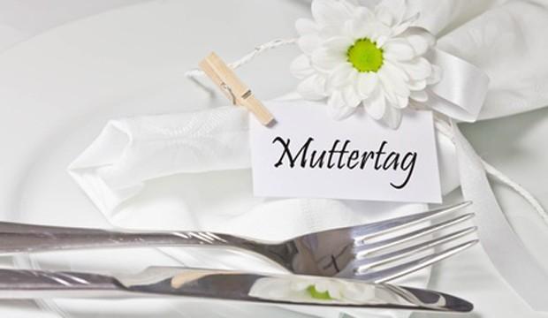 Tischdekoration Muttertag