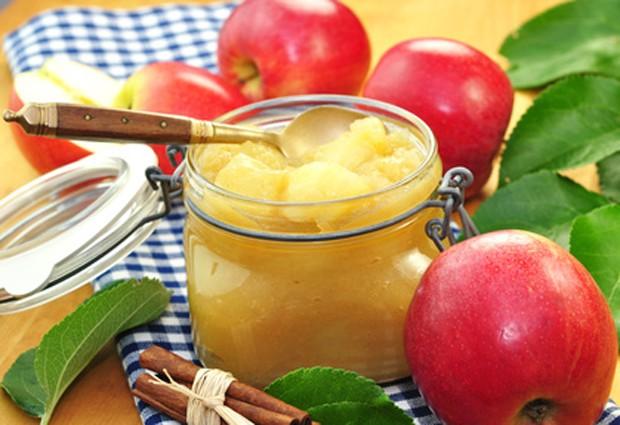 Apfelmus mit Lageräpfel