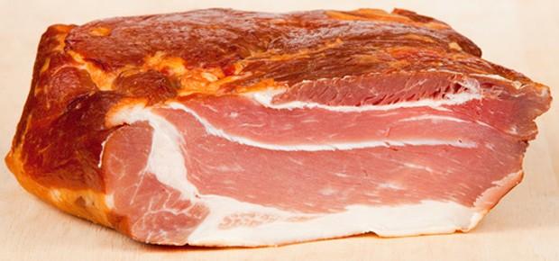 Schweinefleisch geräuchert