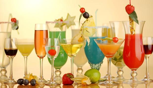 Selbstgemachte Cocktails