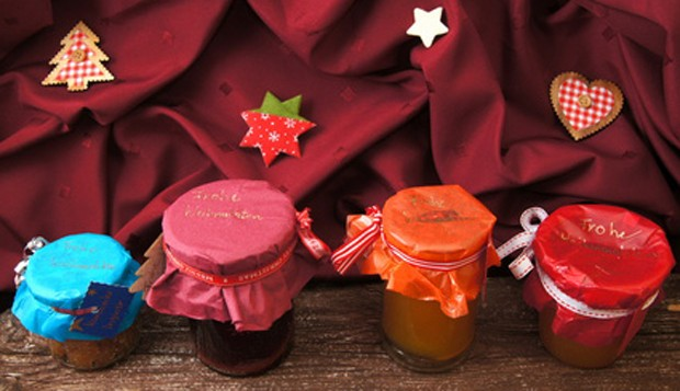 Marmeladegläser selbstgemacht