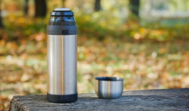 Kaffee in der Thermoskanne
