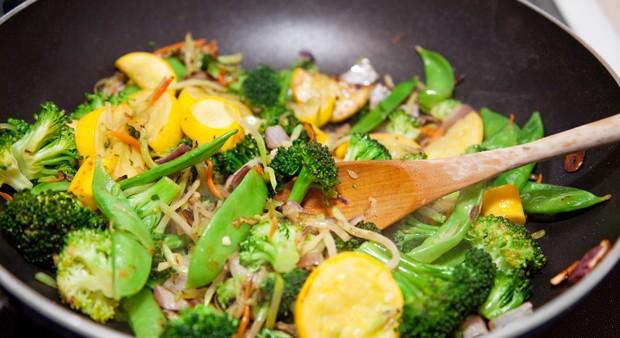 Vitamine beim Gemüse Kochen