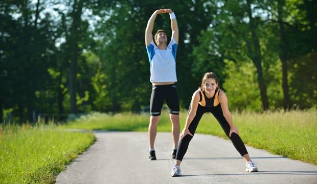 Sport hilft gegen Stress
