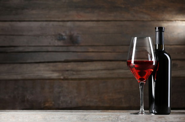 Rotwein zum Essen