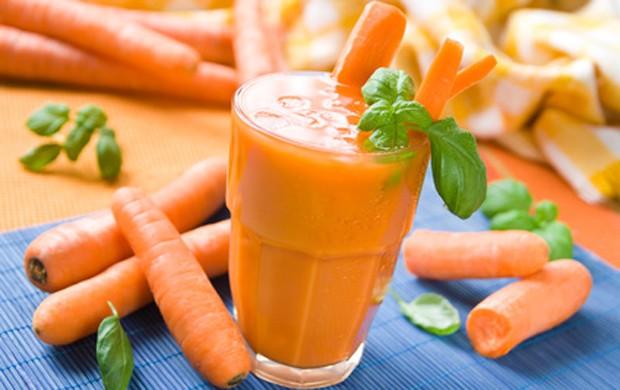 Heilfasten mit Karottensaft