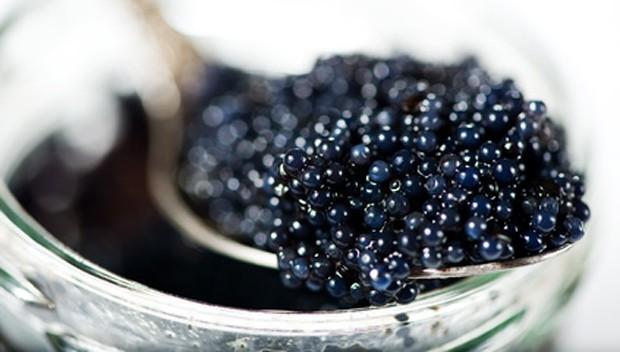 Kaviar Lagerung