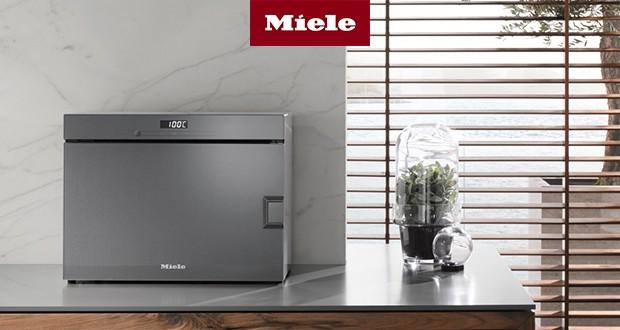 Perfektes Design - ein Dampfgarer passt in jede Küche.