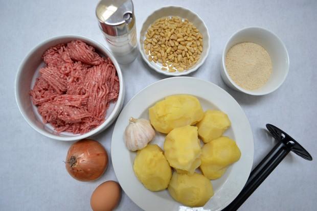 Zutaten Kartoffelköfte