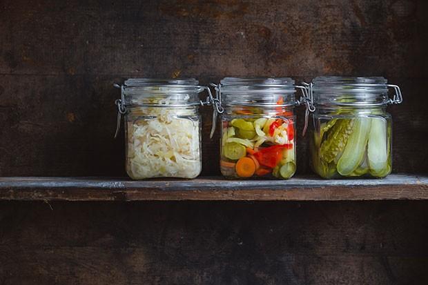 Fermentiertes Gemüse
