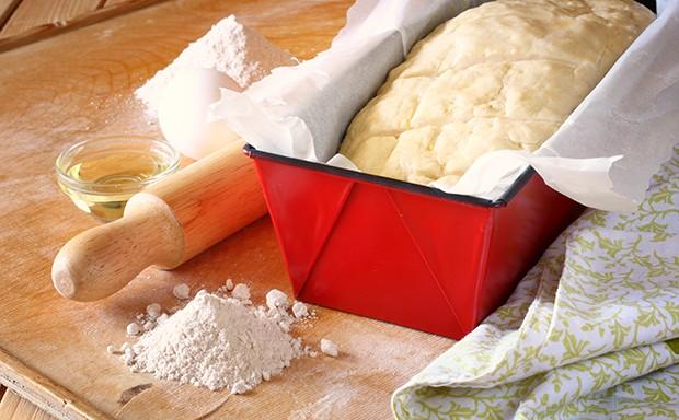 Um das eigene Brot zu backen benötigt man gar nicht so viele Küchen-Utensilien.
