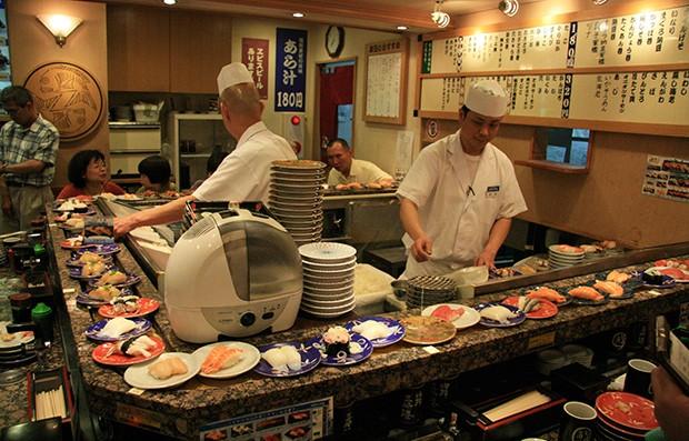 Traditionelle Sushi Restaurants gibt es auch bei uns in Österreich.