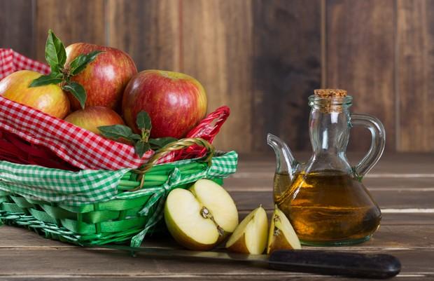 Schlank mit Apfelessig