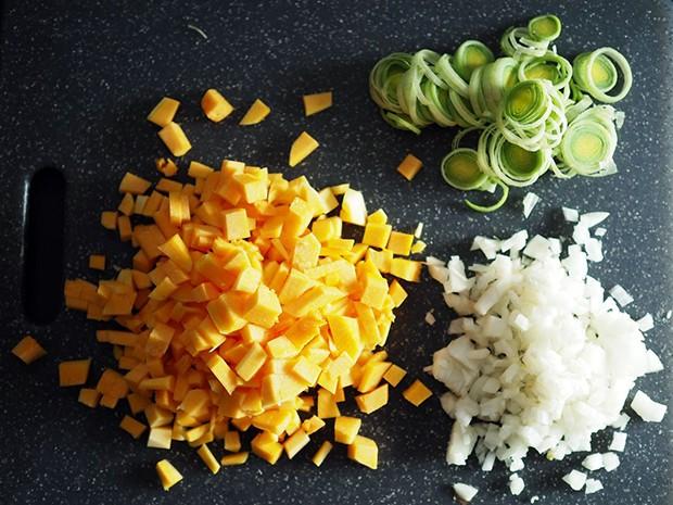 Gefüllt werden können die Teigtaschen mit dem was schmeckt.