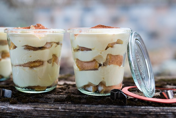 Tiramisu ist ein Dessert-Klassiker und stammt ursprünglich aus Venetien.