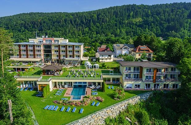 Das 4 Elemente SPA & Golfhotel liegt in Pörtschach direkt am wunderschönen Wörthersee.