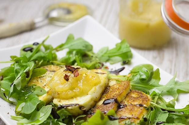Fruchtiges Ananas-Chutney mit Chili