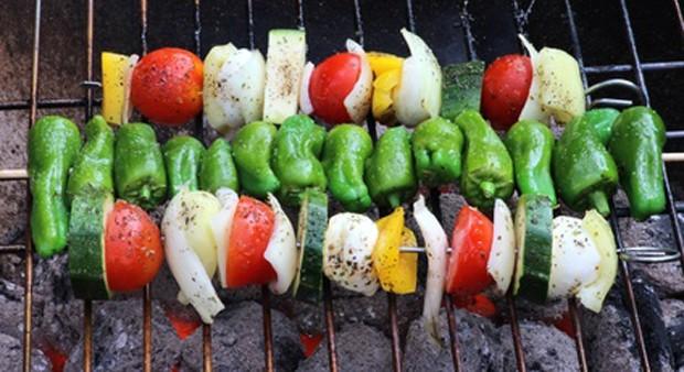 Gemüse grillen