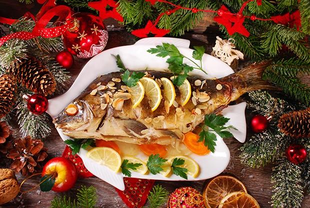 Zu den Klassikern der Weihnachtsküche gehört sicher ein gebratener Karpfen.