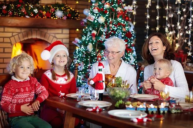 Was gibt es schöneres als Weihnachten mit der ganzen Familie zu feiern.