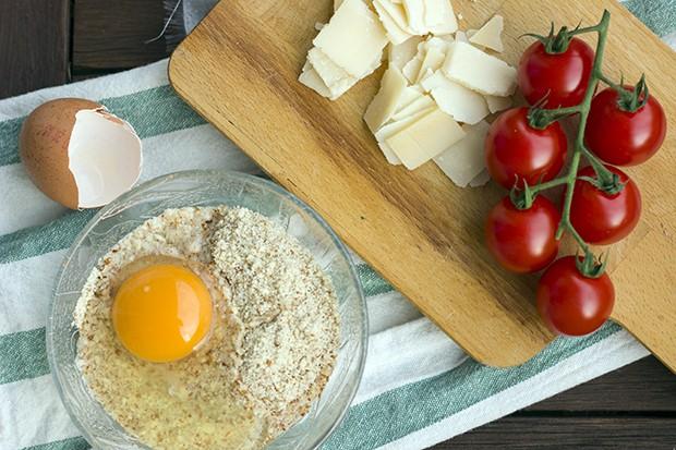 Spargel auf Haselnuss-Parmesan-Bett