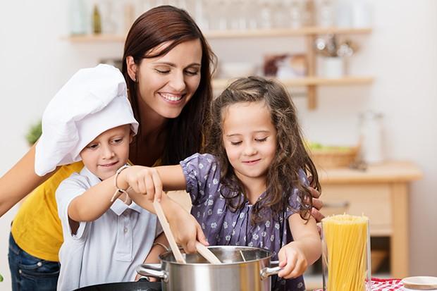 Kochen mt Kindern macht Spaß