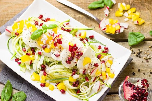 Bunte Zoodles im Sommer!