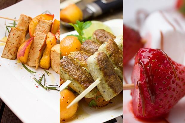 Aufgespießt - drei Ideen für Spieße vom Grill