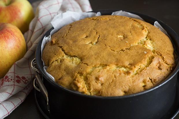 Apfel-Vanille-Kuchen mit Zimtobers