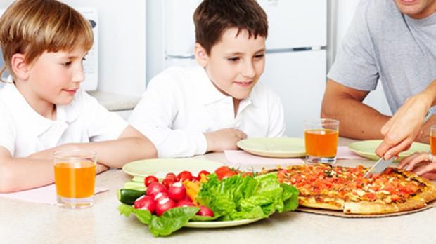 Pizza für Kinder