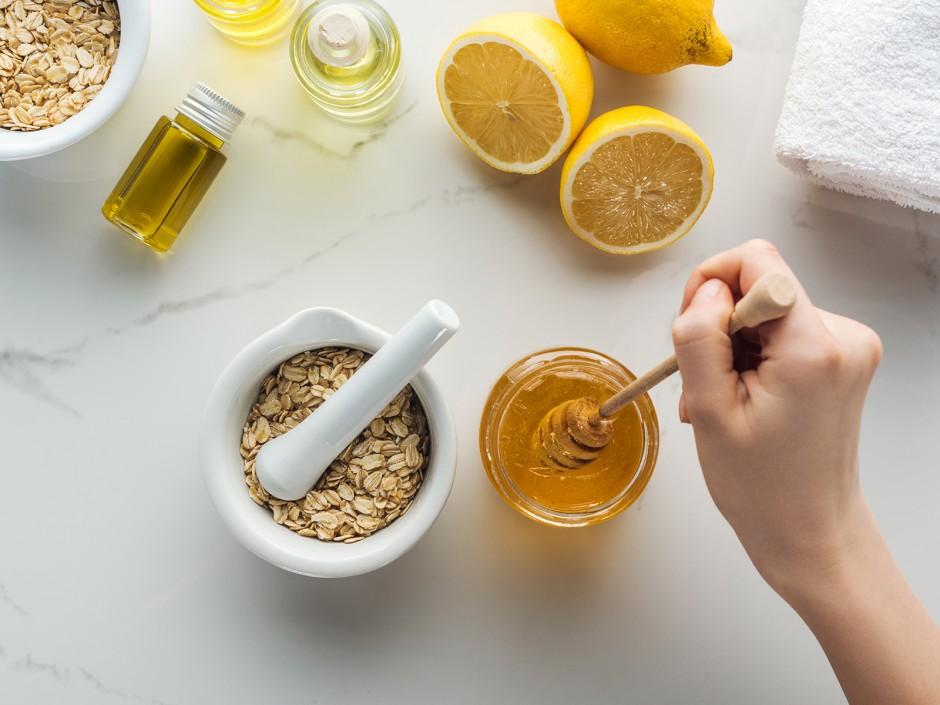 Beauty Food und Öle