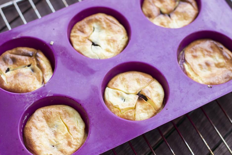 Cheesecake-Muffins
