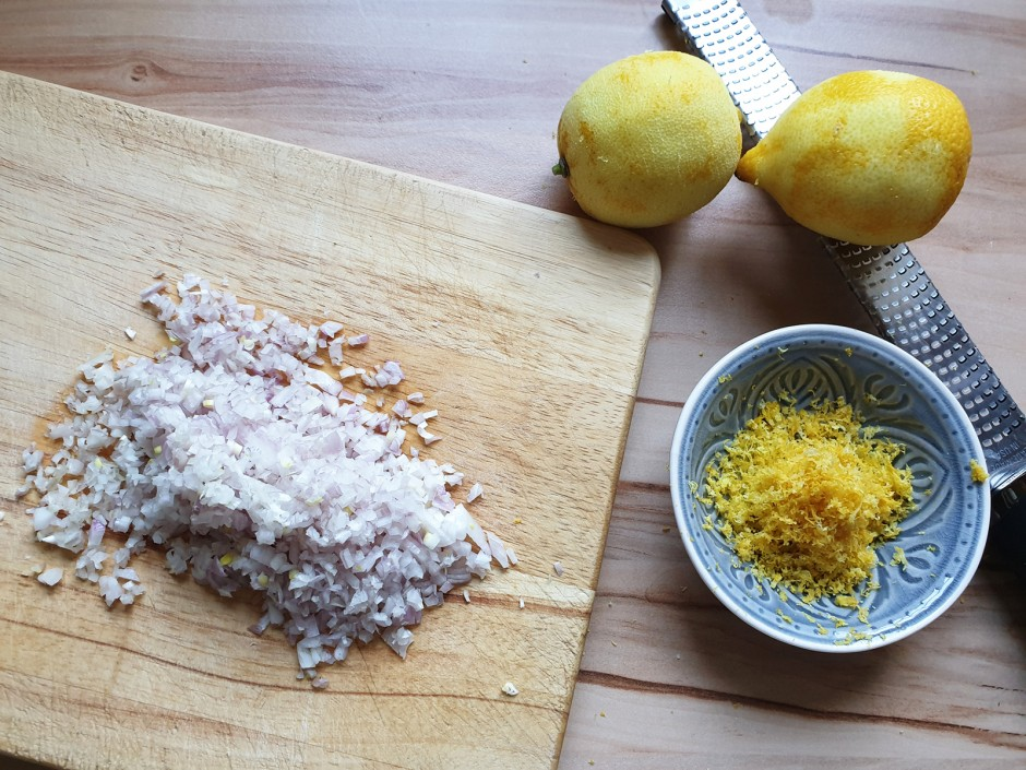 Zitronenrisotto