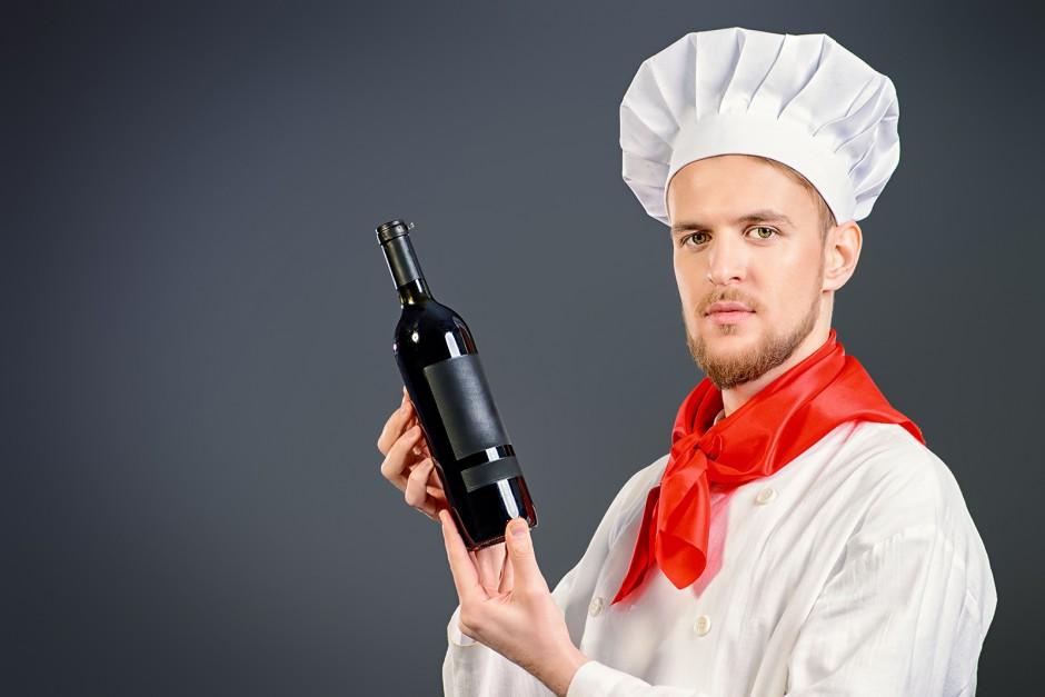 Kochen mit Wein