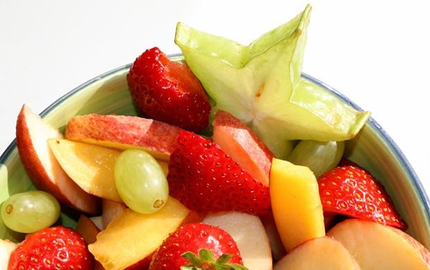 Auch im Obstsalat macht die Sternfrucht eine hervorragende Figur.