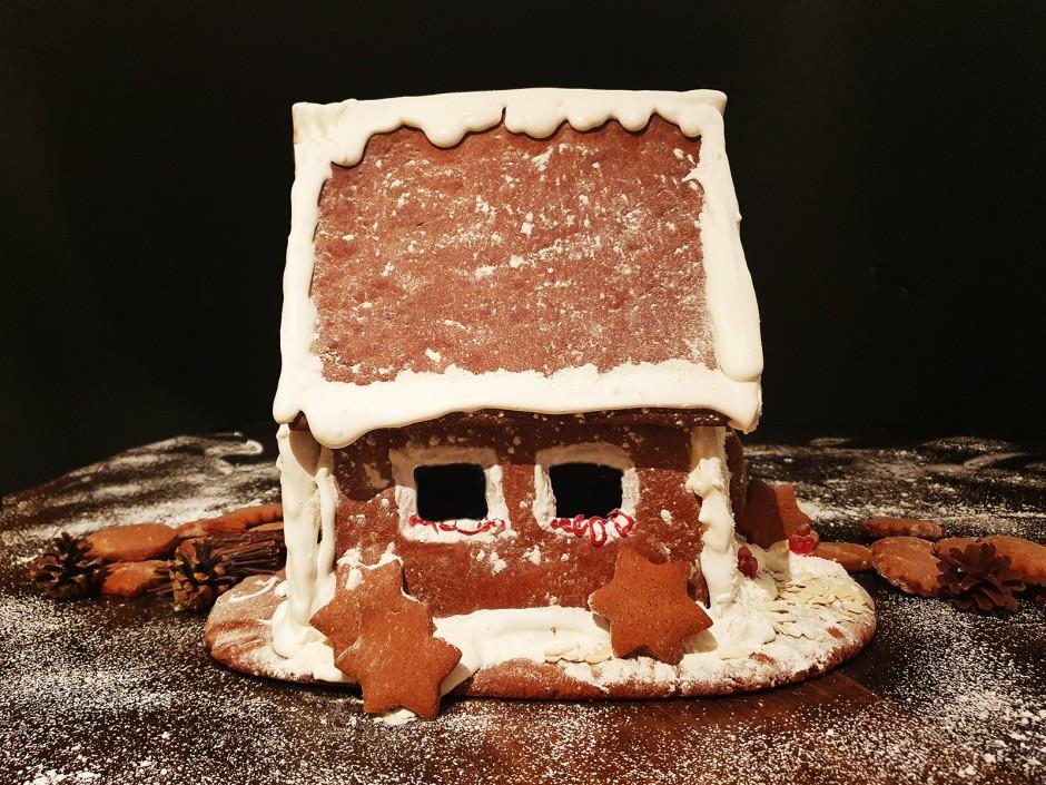 Lebkuchenhaus selbstgemacht