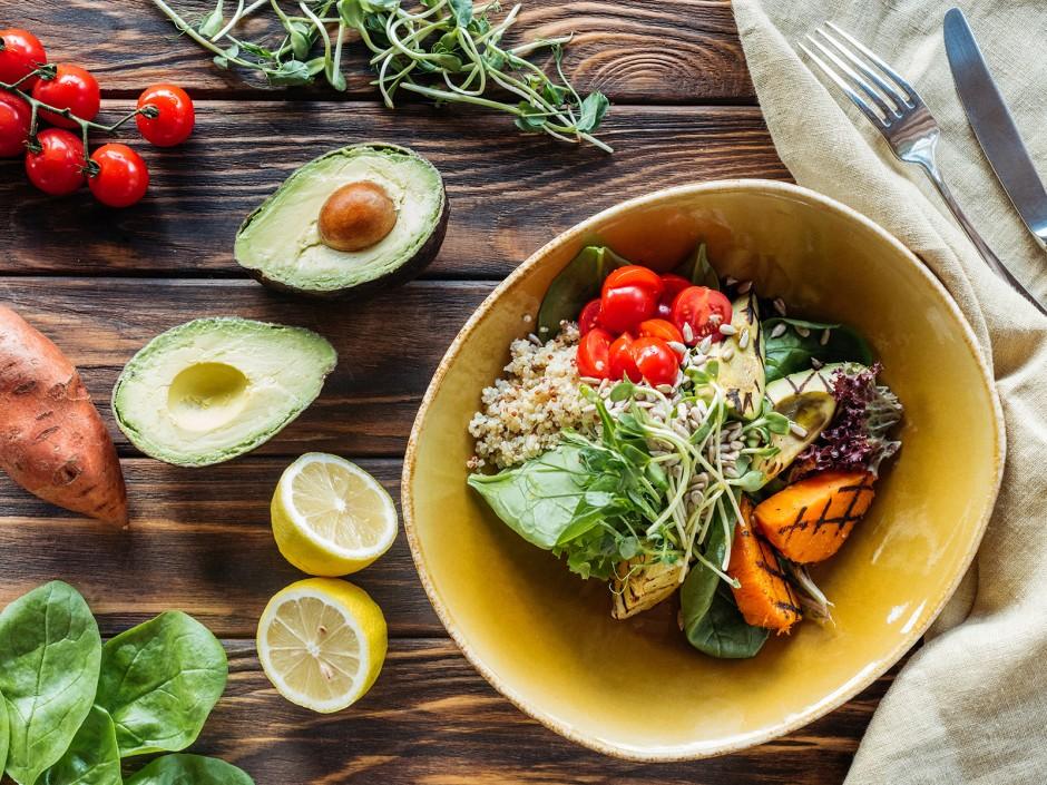 gesunde Salatbowle